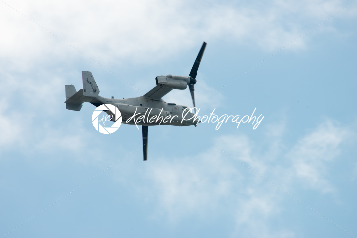 ATLANTIC CITY, NJ – AUGUST 17: Marines V-22 Osprey performing at the Annual Atlantic City Air Show on August 17, 2016 - Kelleher Photography Store