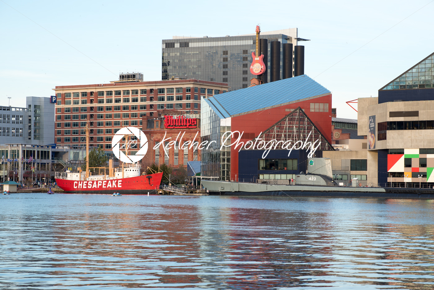 Baltimore maryland february 18 the inner harbor in for Fish store baltimore