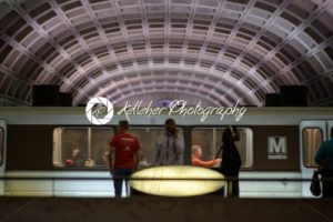 WASHINGTON, DISTRICT OF COLUMBIA – APRIL 14: Washington DC Metro Subway Train Station on April 14, 2017 - Kelleher Photography Store