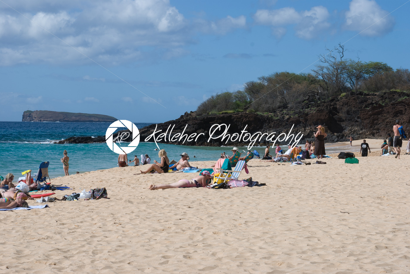 Beach Life At Mokapu Park On The Hawaiian Island Of Maui Kelleher Photography