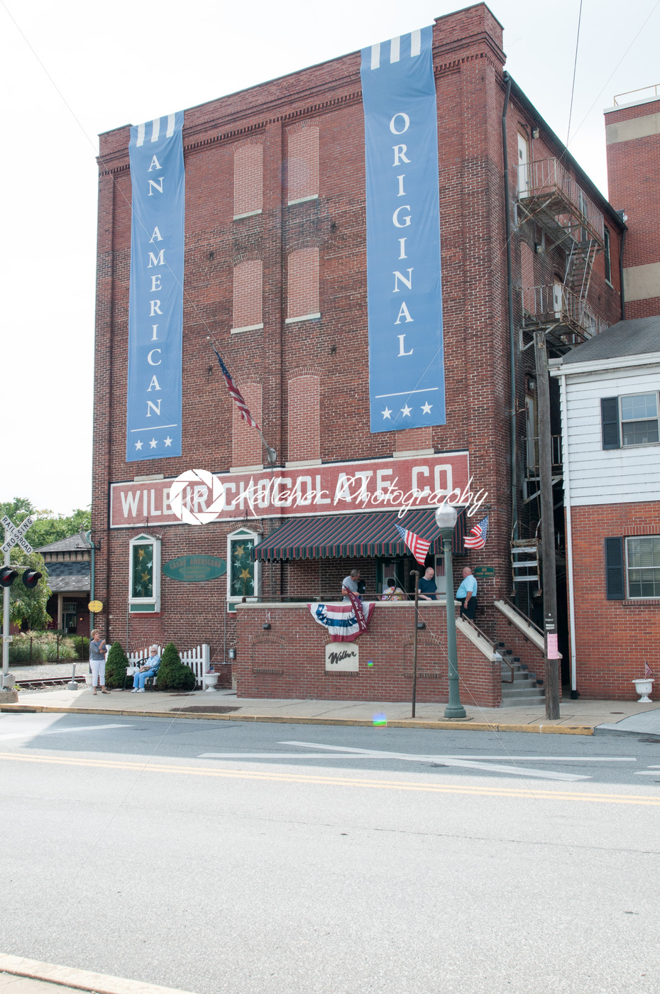 LITITZ, PA – AUGUST 30: The famed Wilbur Chocolate Company headquarters on Route 501 in Lititz on August 30, 2014 - Kelleher Photography Store
