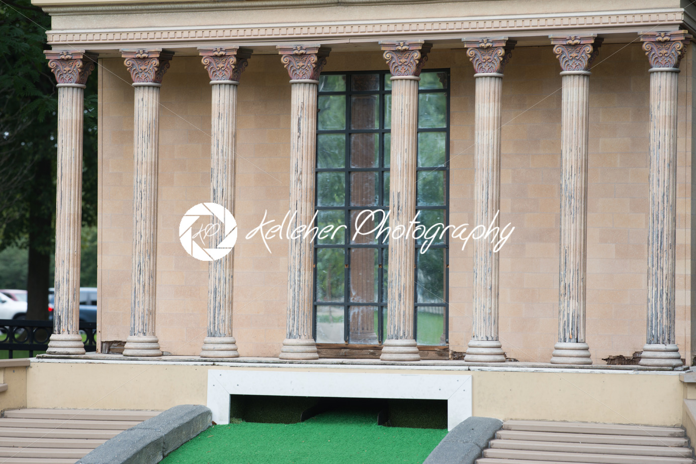 PHILADELPHIA, USA – AUGUST 12: Minature Golf course with Philadelphia themed structures in Franklin Square in Center City Philadelphia on August 12, 2017 - Kelleher Photography Store
