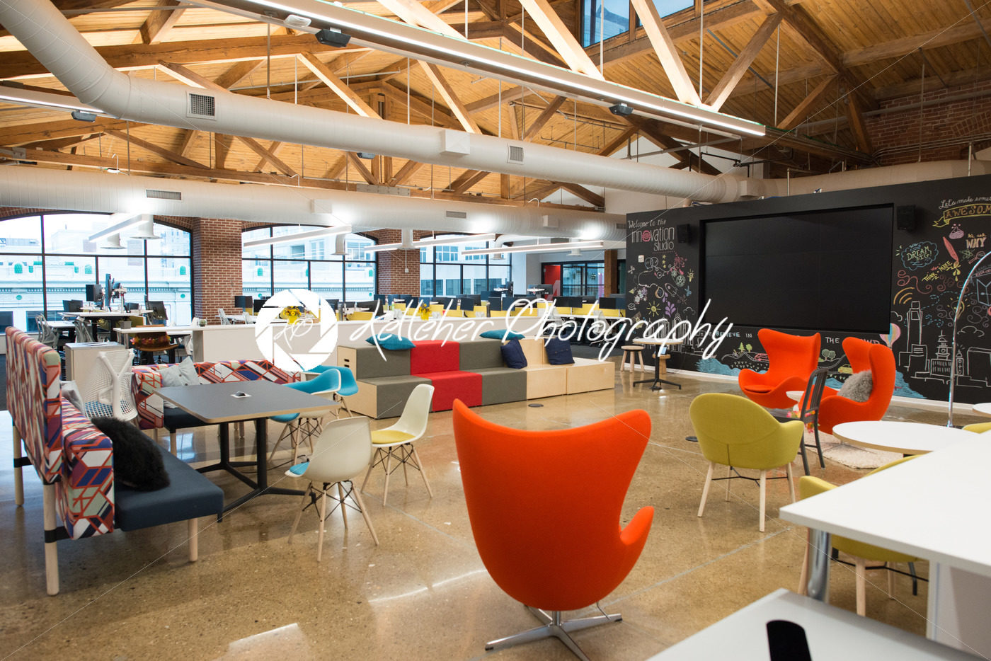 Loft office Brick Wall Trendy Modern Open Concept Loft Office Space With Big Windows Natural Light And Layout To Encourage Collaboration Creativity And Innovation 3dtotal Forums Trendy Modern Open Concept Loft Office Space With Big Windows