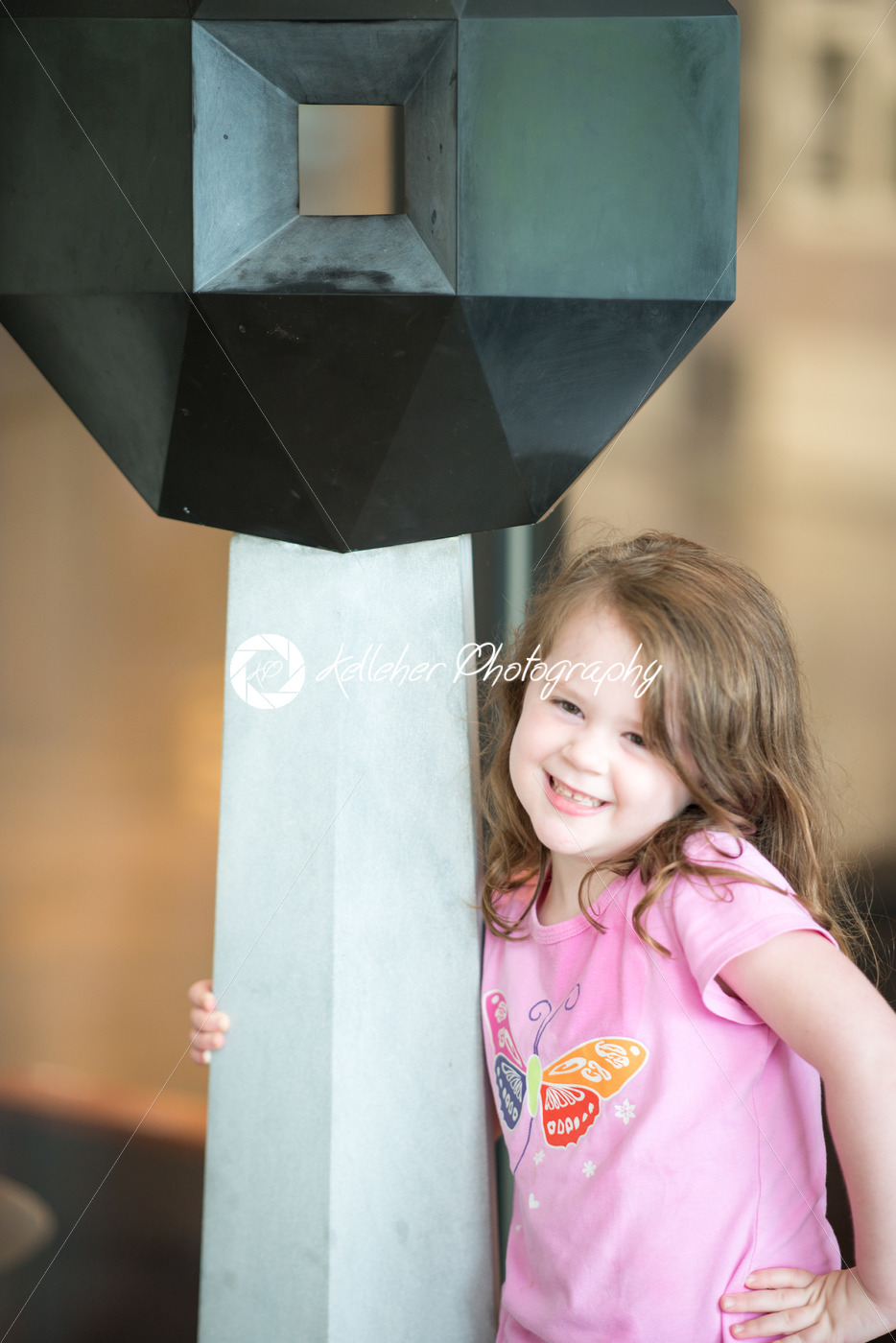 Pretty little girl with a happy sweet smile - Kelleher Photography Store
