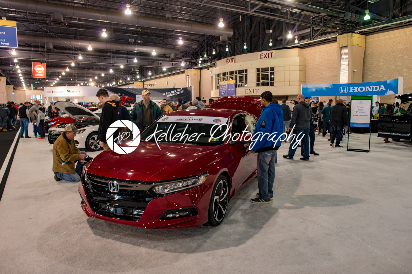 PHILADELPHIA PA Feb People Enjoying The Philadelphia Auto - Philadelphia car show 2018