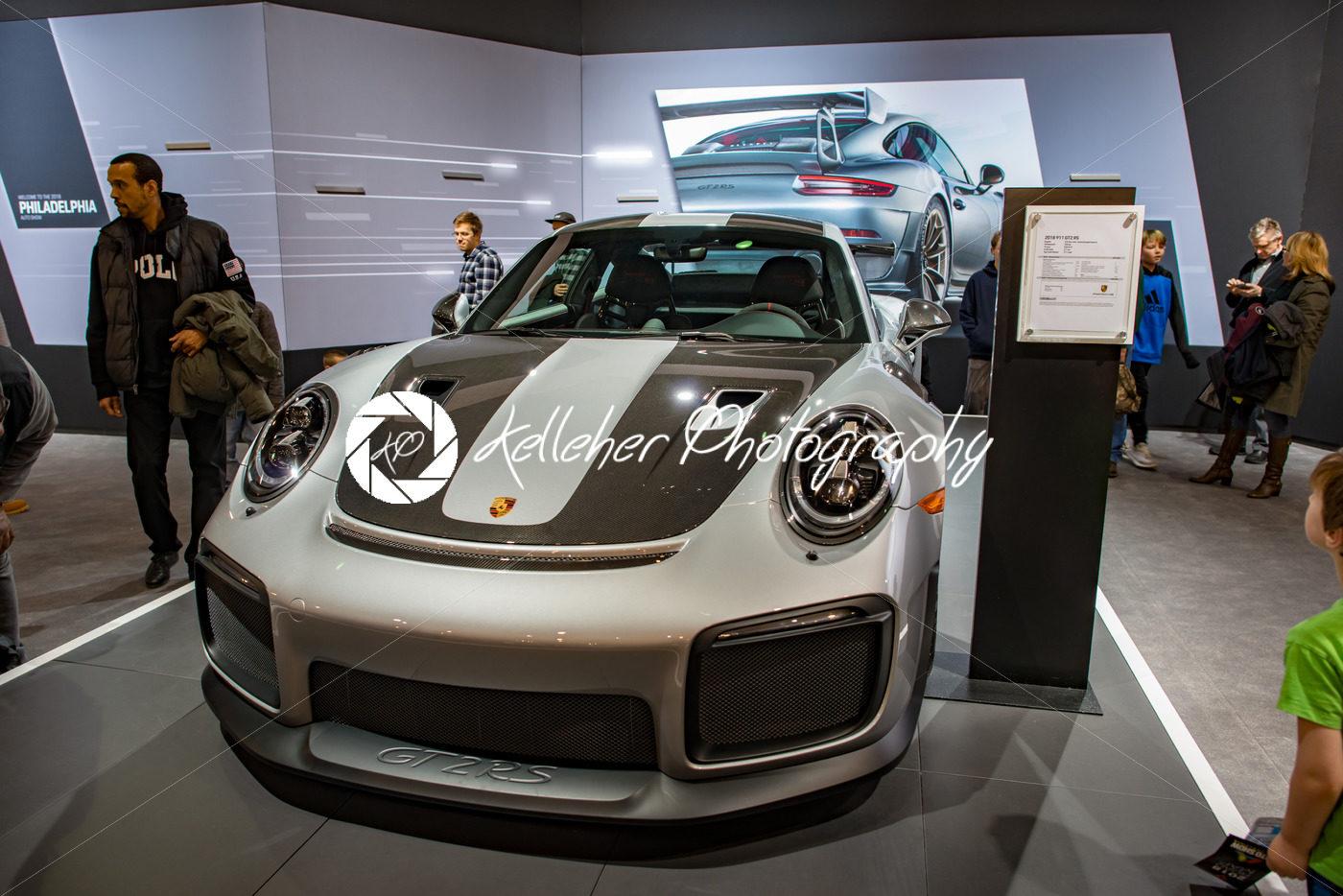PHILADELPHIA PA Feb Porsche At The Philadelphia Auto Show - Philadelphia car show 2018