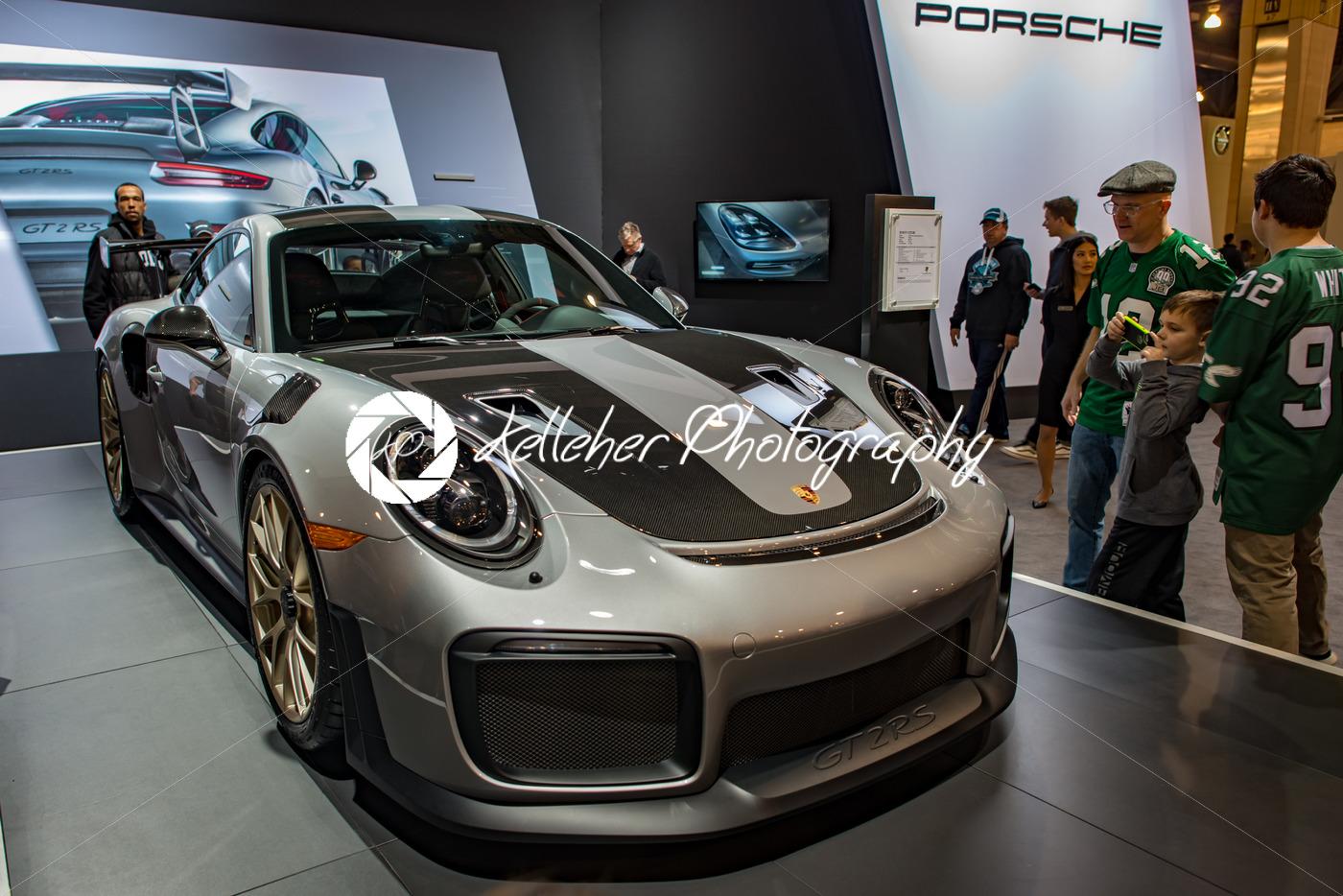 PHILADELPHIA PA Feb Porsche At The Philadelphia Auto Show - Car show philadelphia 2018