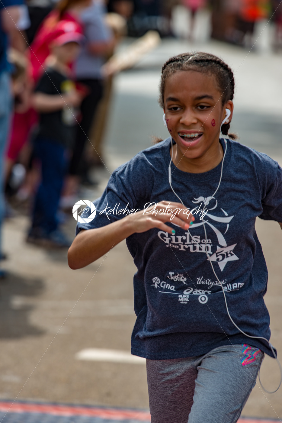 Blue Bell, PA -May 20, 2018: Girls on the Run 5k Finish - Kelleher Photography Store