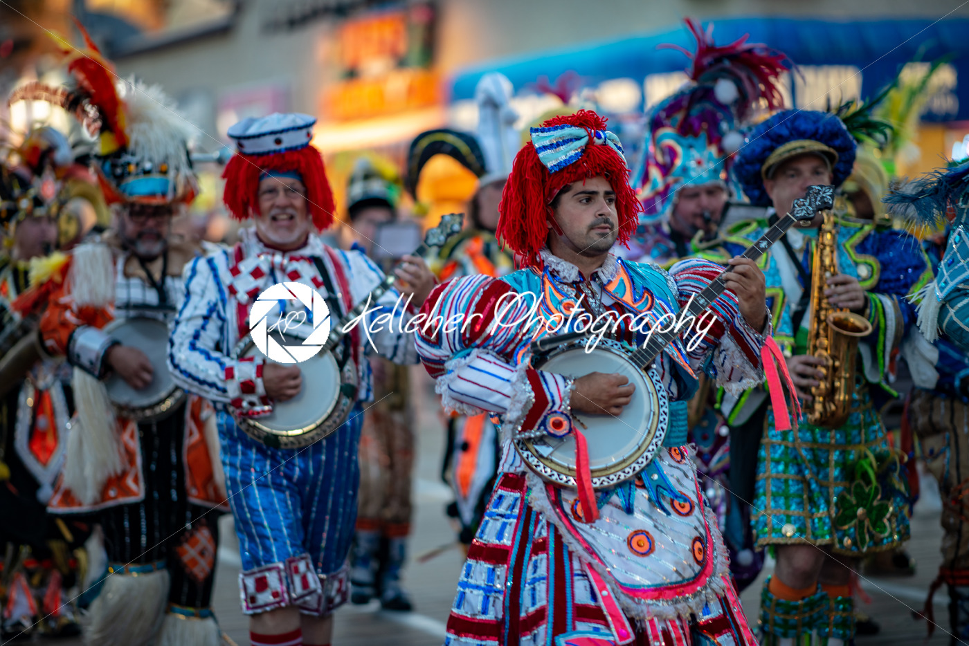 Ocean City, NJ – June 10, 2018: Avalon String Band performs on the Ocean City NJ boardwalk - Kelleher Photography Store