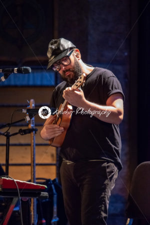 ITHACA, NY – NOVEMBER 4, 2018: Bass guitarist Tim Nordwind of the band OK Go performs on their Live Videos tour at the State Theatre of Ithaca - Kelleher Photography Store