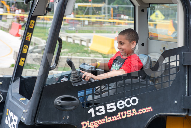 WEST BERLIN, NJ - MAY 28: Diggerland USA, the only construction themed adventure park in North America where children and ...