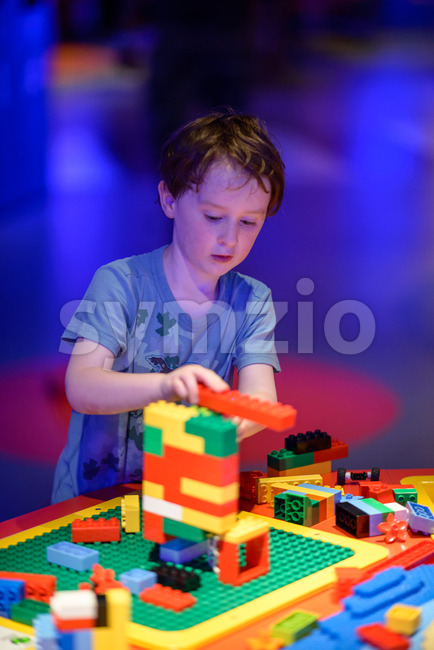 PLYMOUTH MEETING, PA - APRIL 6: Grand Opening of new Legoland Discovery center in Plymouth Meeting, suburban Philadelphia, PA on ...