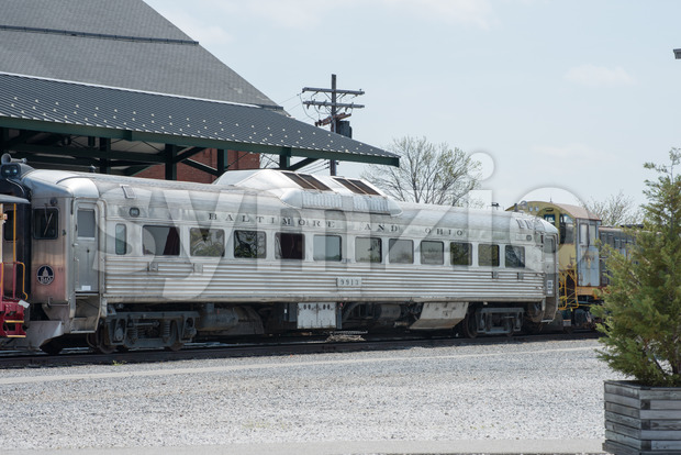 BO No 9913 Baltimore Ohio Railroad Rail Diesel Car