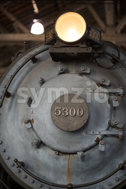 BALITMORE, MD - APRIL 15: B O No.5300, President Washington Baltimore Ohio Railroad Baldwin Locomotive Works on April 15, 2017 Stock Photo