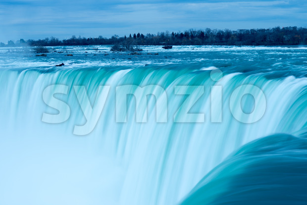View of the Horseshoe Fall, Niagara Falls, Ontario, Canada Stock Photo