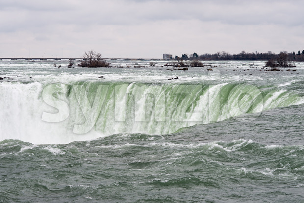 View of the Horseshoe Fall, Niagara Falls, Ontario, Canada Stock Photo