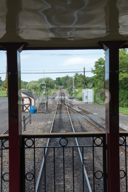 NEW HOPE, PA - AUGUST 11: Views of The New Hope and Ivyland rail road is a heritage train line ...