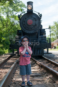 WILMINGTON, DE JUNE 15: The Wilmington and Western rail road is a heritage train line for visitors going on touristic excursions in Wilmington, Stock Photo