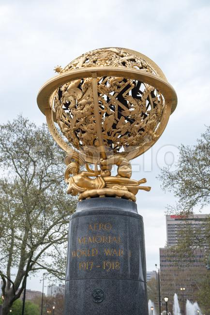 PHILADELPHIA, PA - APRIL 19: View of Aero Memorial is located in Philadelphia's Aviator Park on April 19, 2013. The ...