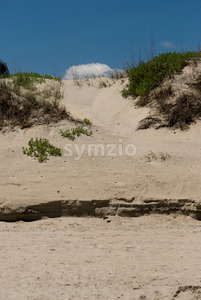 Jockey's Ridge Sand Dune in the Outer Banks, North Carolina. Stock Photo
