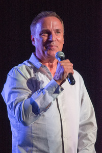 VALLEY FORGE CASINO, KING OF PRUSSIA, PA - JULY 15: Comedian Craig Shoemaker performing at Kendall's Crusade fundraising event to raise awareness of Stock Photo