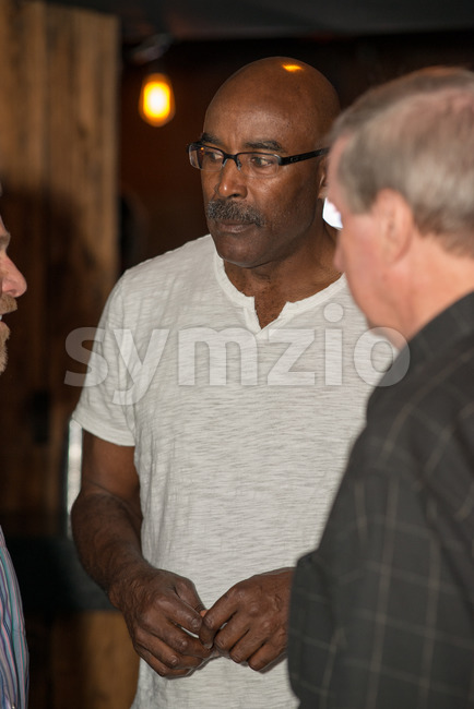 VALLEY FORGE CASINO, KING OF PRUSSIA, PA - JULY 15: former Philadelphia Eagles football player Mike Quick at Kendall's Crusade fundraising event on Stock Photo