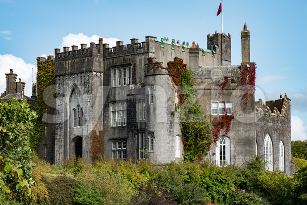 COUNTY OFFALY, IRELAND - AUGUST 23, 2017: Birr Castle in County Offaly, Ireland Stock Photo