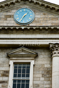DUBLIN, IRELAND - AUGUST 30: Trinity College campus, Dublin City, Ireland Stock Photo