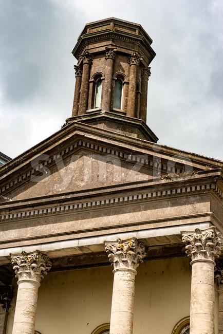 COBH, IRELAND - AUGUST 19, 2017: Architecture of Cobh, Ireland Stock Photo