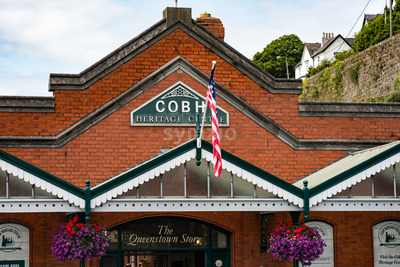 COBH, IRELAND - AUGUST 19, 2017: Heritage Center of Cobh, Ireland Stock Photo