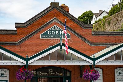 COBH, IRELAND - AUGUST 19, 2017: Heritage Center of Cobh, Ireland Stock Photo