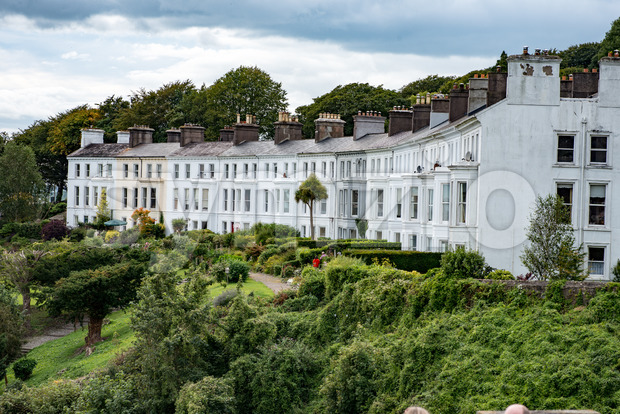 COBH, IRELAND - AUGUST 19, 2017: Architecture of Cobh, Ireland Stock Photo