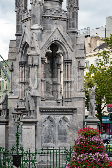 CORK, IRELAND - AUGUST 19, 2017: City Center of Cork, Ireland Stock Photo