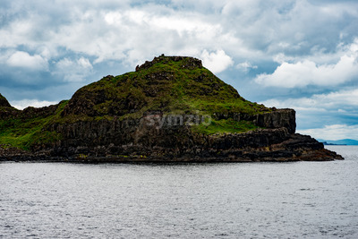The Giant's Causeway in County Antrim, Northern Ireland Stock Photo