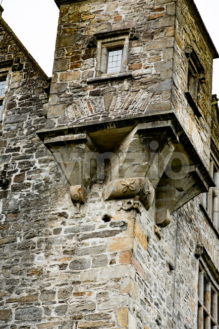 DONEGAL, IRELAND - AUGUST 25, 2017: Donegal Castle in Donegal town Ireland Stock Photo