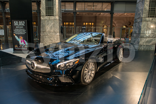 PHILADELPHIA, PA - Feb 3: Mercedes-Benz at the 2018 Philadelphia Auto Show Stock Photo