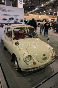 PHILADELPHIA, PA - Feb 3: Suburu vehicle at the 2018 Philadelphia Auto Show Stock Photo