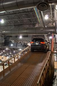 PHILADELPHIA, PA - Feb 3: People enjoying the Jeep experience 2018 Philadelphia Auto Show Stock Photo