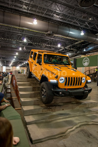 PHILADELPHIA, PA - Feb 3: Jeep at the 2018 Philadelphia Auto Show Stock Photo