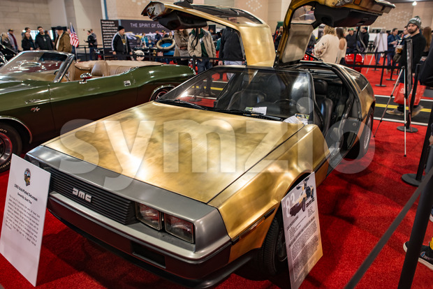 PHILADELPHIA, PA - Feb 3: AMC Deloran the 2018 Philadelphia Auto Show Stock Photo