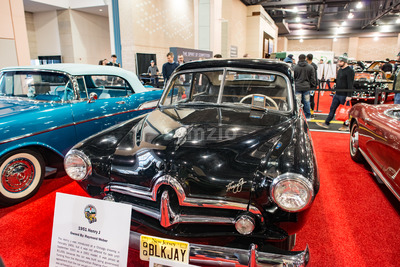 PHILADELPHIA, PA - Feb 3: 1951 Henry J at the 2018 Philadelphia Auto Show Stock Photo