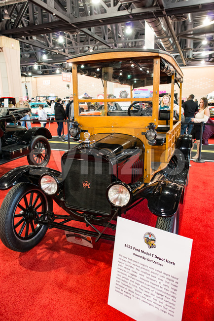 PHILADELPHIA, PA - Feb 3: 1922 Ford Model T at the 2018 Philadelphia Auto Show Stock Photo
