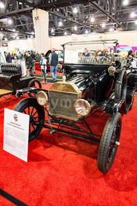 PHILADELPHIA, PA - Feb 3: 1915 Ford Model T at the 2018 Philadelphia Auto Show Stock Photo
