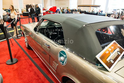 PHILADELPHIA, PA - Feb 3: 1967 Ford Mustang at the 2018 Philadelphia Auto Show Stock Photo
