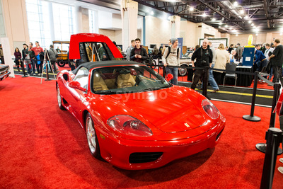 PHILADELPHIA, PA - Feb 3: People enjoying the 2018 Philadelphia Auto Show Stock Photo