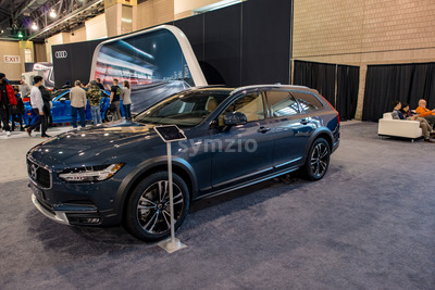 PHILADELPHIA, PA - Feb 3: Volvo at the 2018 Philadelphia Auto Show Stock Photo