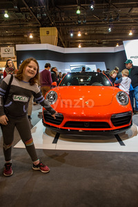 PHILADELPHIA, PA - Feb 3: Porsche at the 2018 Philadelphia Auto Show Stock Photo