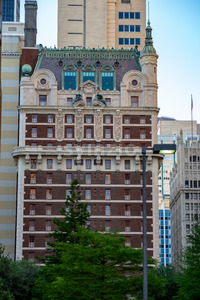 Dallas, Texas - May 7, 2018: The Adolphus Hotel Stock Photo