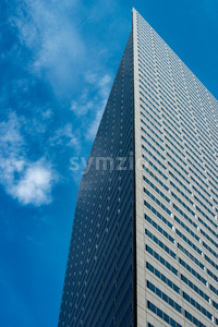 Dallas, Texas - May 7, 2018: Buildings in Downtown Dallas Texas Stock Photo
