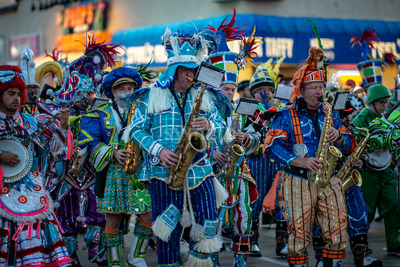 Ocean City, NJ - June 10, 2018: Avalon String Band performs on the Ocean City NJ boardwalk Stock Photo